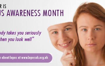 Lupus awareness month poster