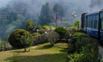 Train in Darjeeling