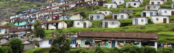 Ooty - an indian city in south india high in the mountains