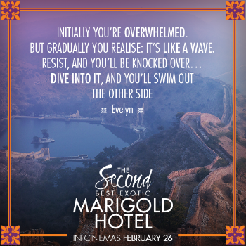 Second Best Exotic Marigold Hotel quote on starting again Resized
