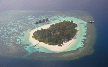 An island belonging to the Maldives