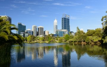 Downtown View of Perth