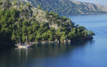 Boncuklu Bay, Dalaman, Turkey