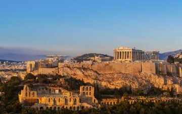 Acropolis Hill, Athens, Greece