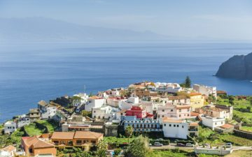Village on La Gomera island