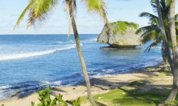 Bathsheba beach in Barbados