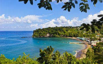 Beach in Saint Lucia