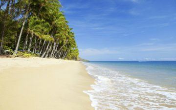 Beach in Cairns, Australia