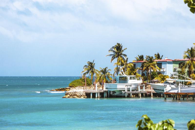 Caribbean Coast Antigua Barbuda