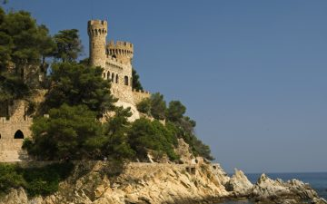 Castle in Lloret de Mar, Spain