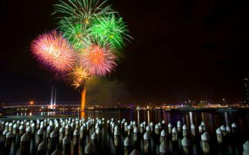 Fireworks, Melborne