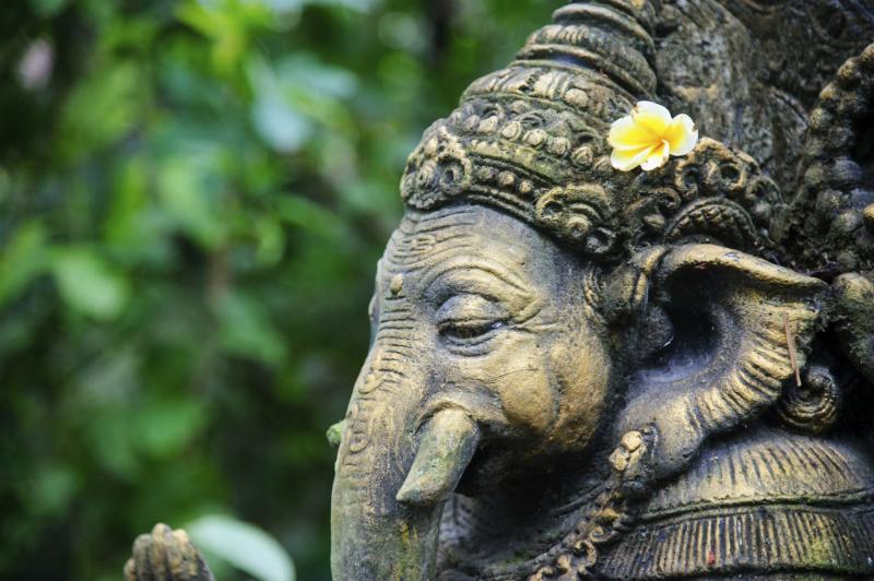 Ganesh statue, Bali