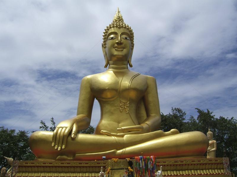 Golden Buddha Statue, Pattaya