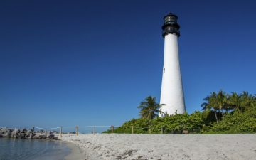 Lighthouse in Miami, Florida