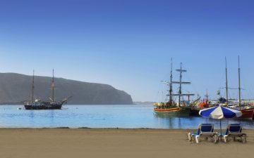 Los Cristianos Beach,Tenerife