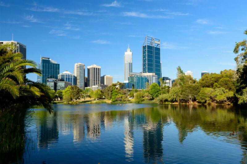 Perth skyline, Australia