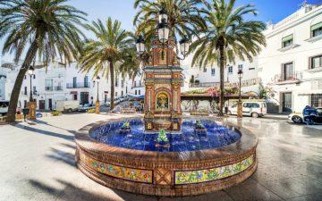 Plaza de Espana, Vejer de la Frontera, Spain