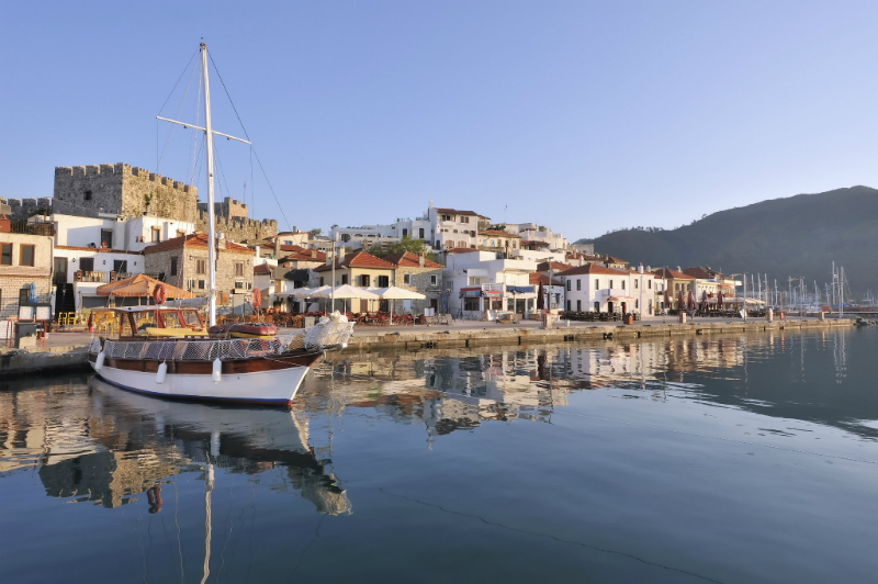 Port of Mamaris, Turkey