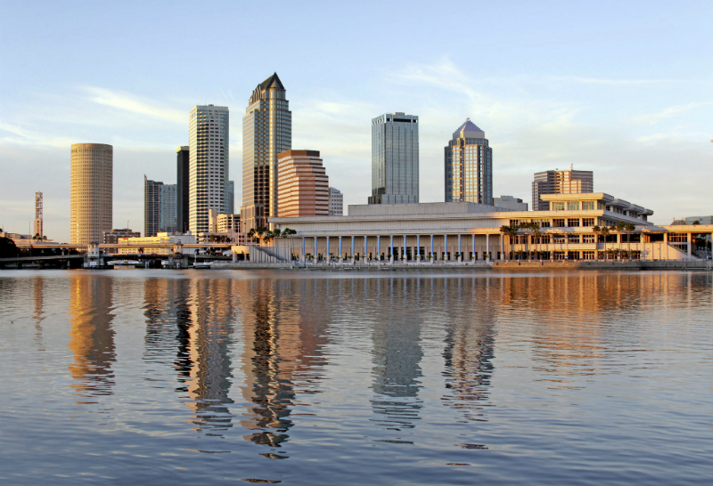 Skyline of Tampa, Florida