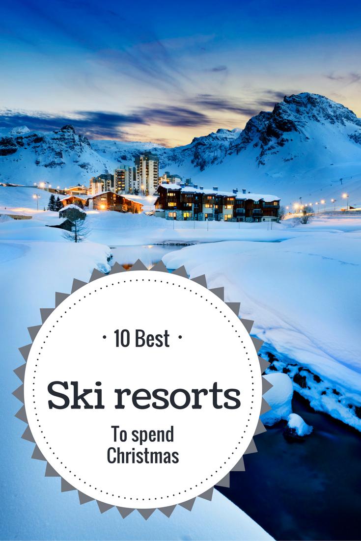 Top 10 Christmas Ski Resorts