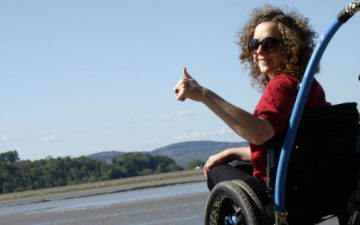 Travelling in a wheelchair