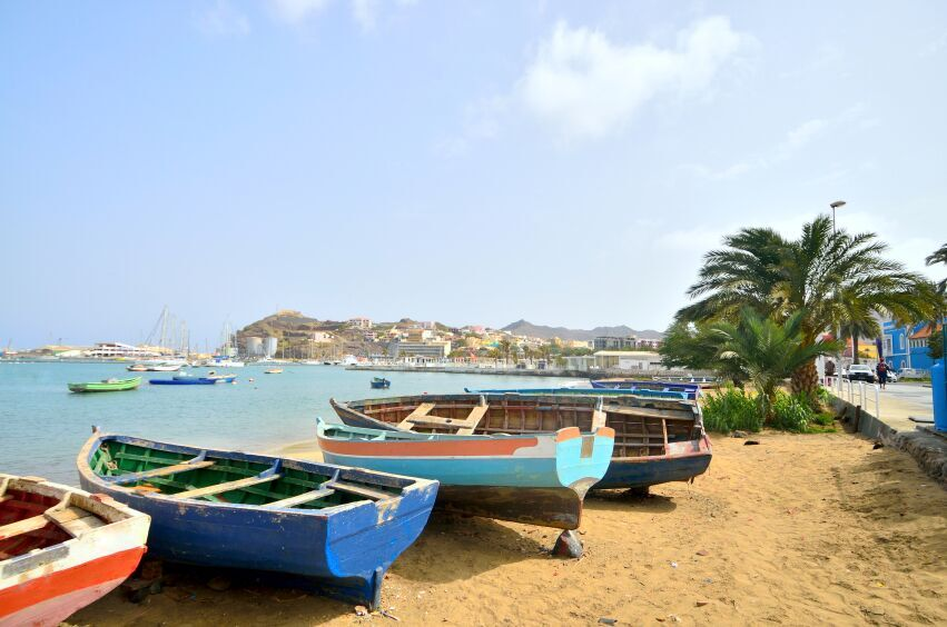 Fishing Rowboats, Cape Verde