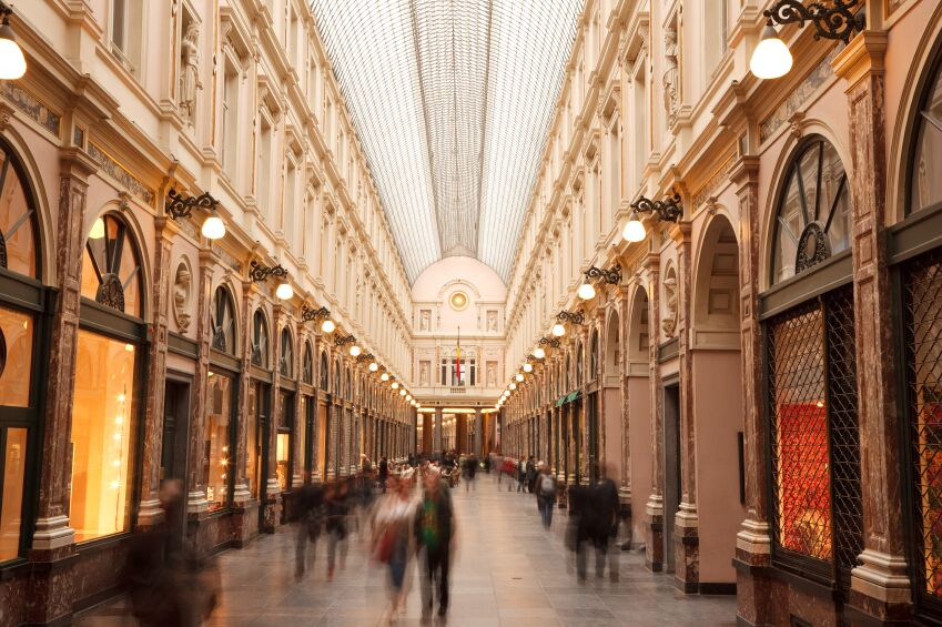 Shopping Gallery, Brussels, Belgium