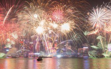 Fireworks, Hong-Kong
