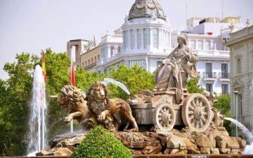Fountain Plaza de Cibeles, Madrid
