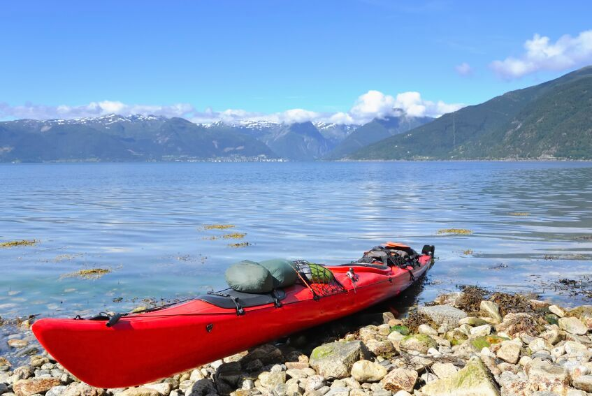 Kayak in Norway