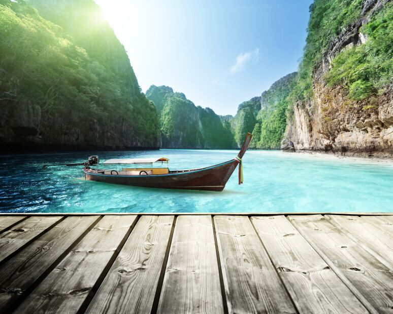 Phi Phi Island view, Thailand