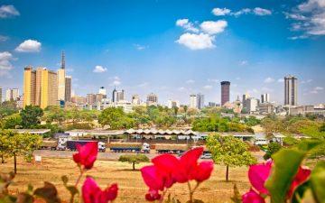 View of Nairobi, Kenya