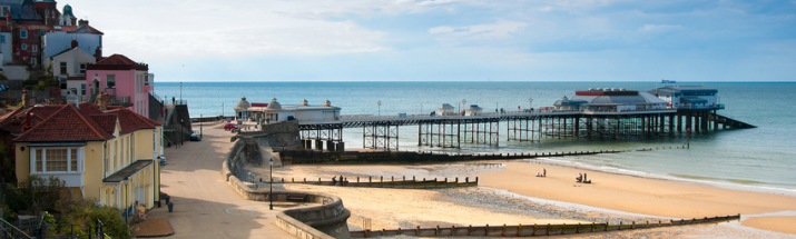Cromer Pier, Norfolk coast