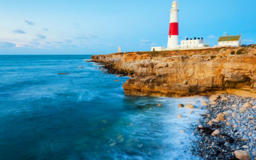 Portland Bill Lighthouse Dorset UK