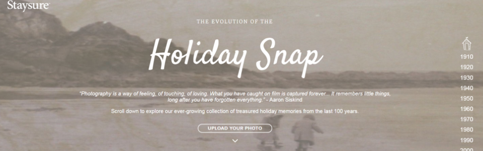 Holiday snap time capsule