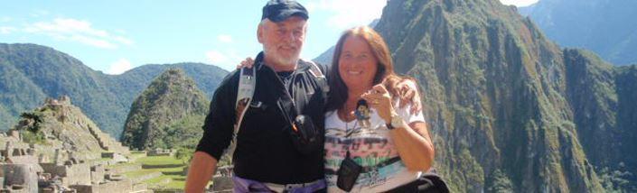 Staysure customer Jackie Wright and her husband