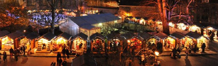 Christmas Market in Winchester