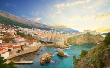 Dubrovnik cityscape, Croatia