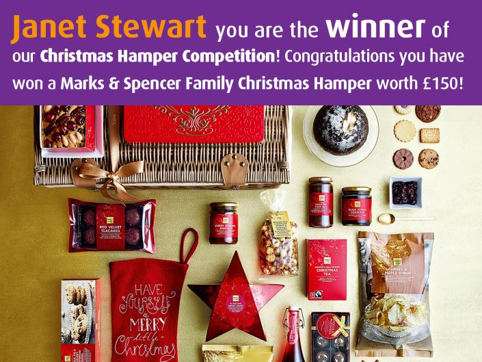 Facebook competition winner - Janet Stewart