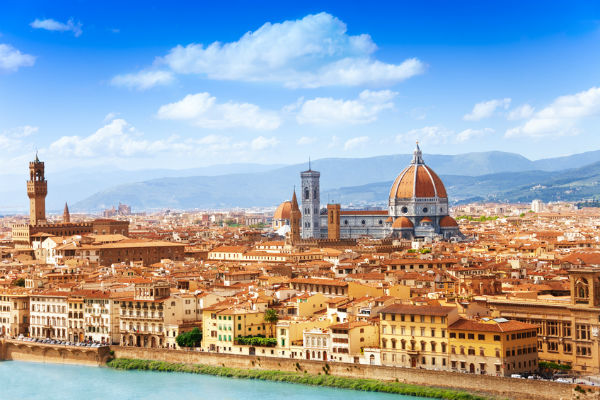 Florence, Italy cityscape