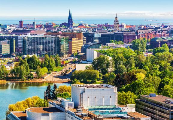 Cityscape Helsinki, Finland