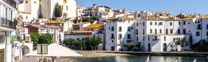 Houses in Cadaques, Gerona Province