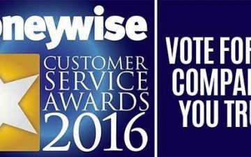 Moneywise awards poster