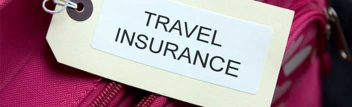 Travel Insurance myths - tag on a suitcase