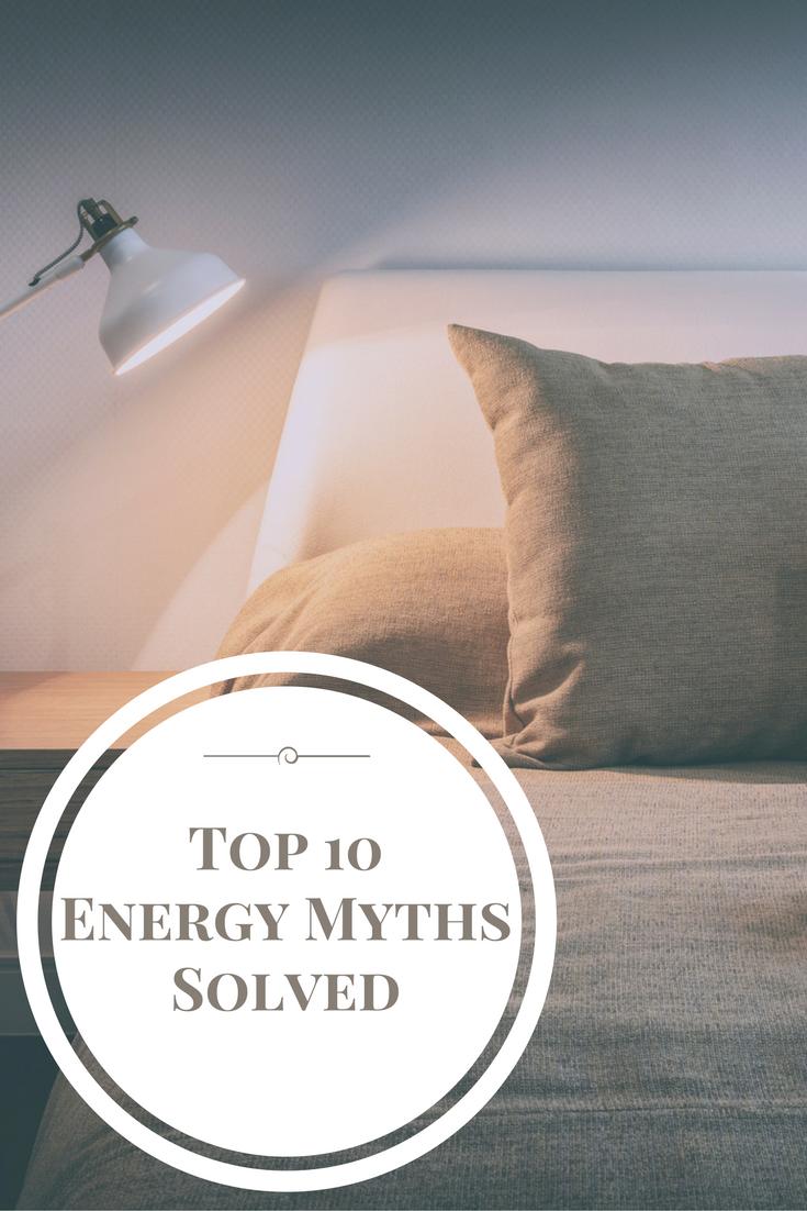 Top 10 energy myths solved
