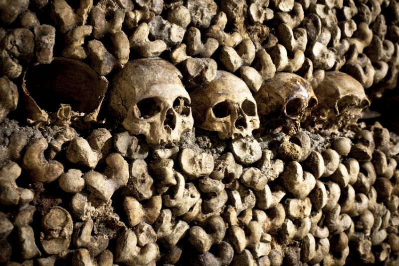 Paris Catacombes, France