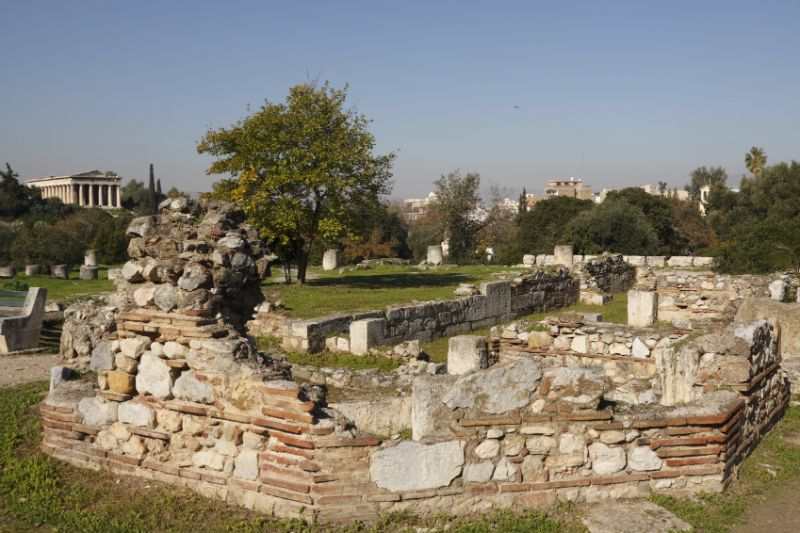 Ruins of the Agora, Athens