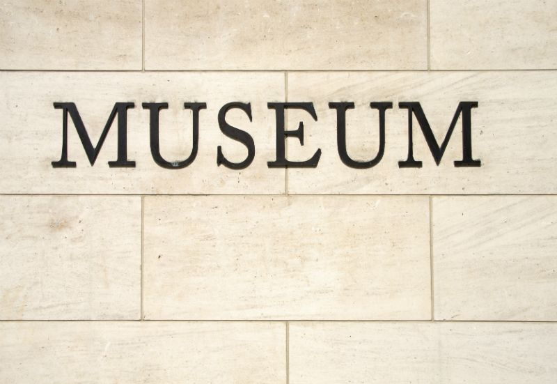 Museum Sign on a wall