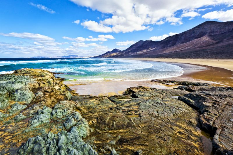 Fuerteventura coastline, Canary Islands