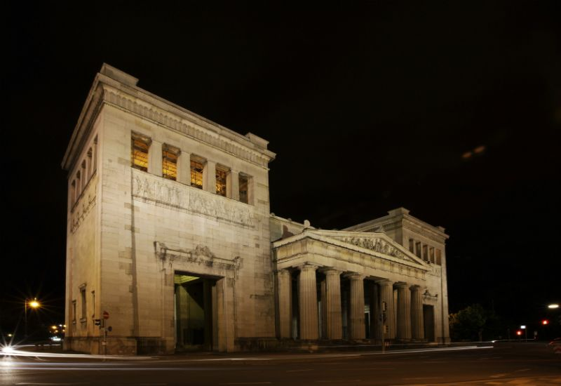 Acropolis, Munich by night